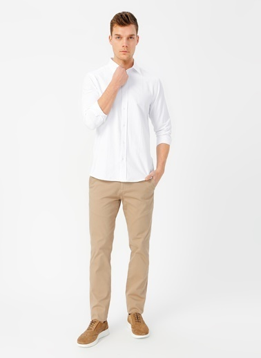 Fabrika Comfort Gömlek Beyaz